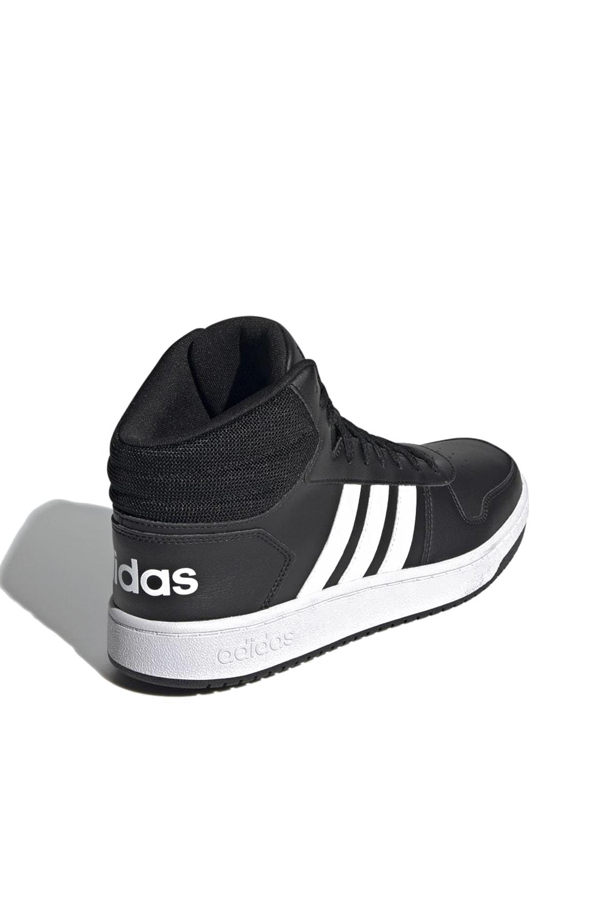 adidas Unisex Sneaker HOOPS 2.0 MID GÜNLÜK SPOR AYAKKABI 1