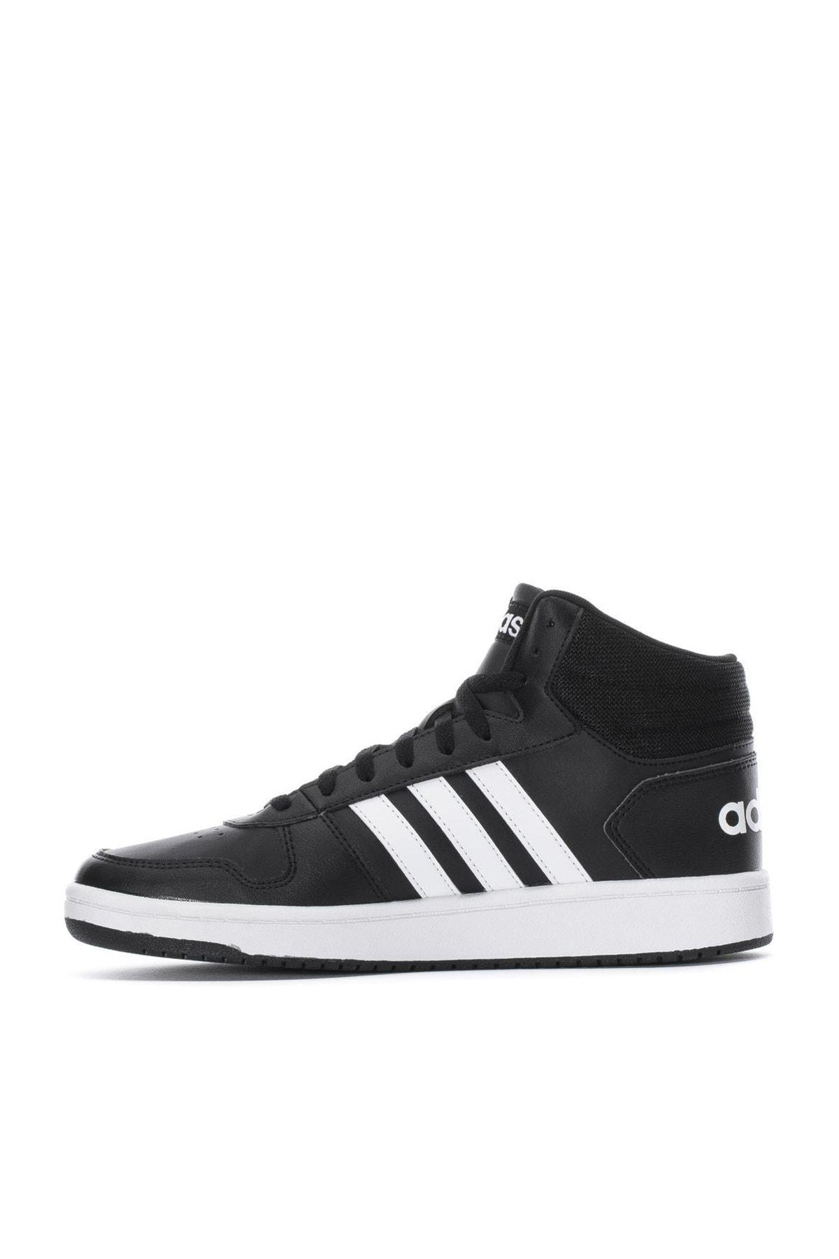 adidas Unisex Sneaker HOOPS 2.0 MID GÜNLÜK SPOR AYAKKABI 2