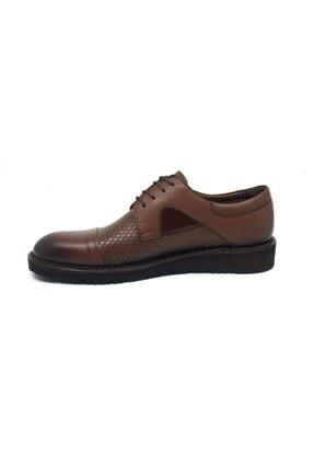 Taşpınar Üçlü Deri Erkek Rahat Günlük Yazlık Bağcıklı Ayakkabı 39-45 2