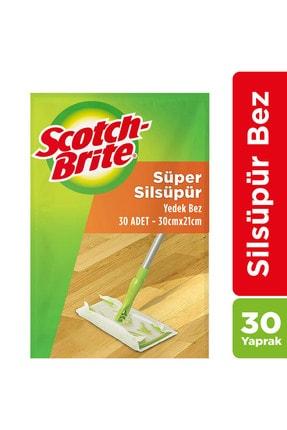 Scotch Brite Sil Süpür Paspas Q600 Yedek Bez - 30 Adet 0