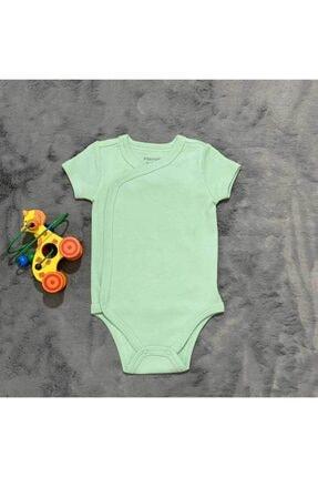 PİEROSBABY Pieros Baby 0014 Erkek Bebek Kısa Kol 2 'li Badi 2