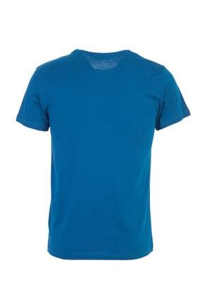 Kiğılı Bisiklet Yaka Slim Fit Tişört 1