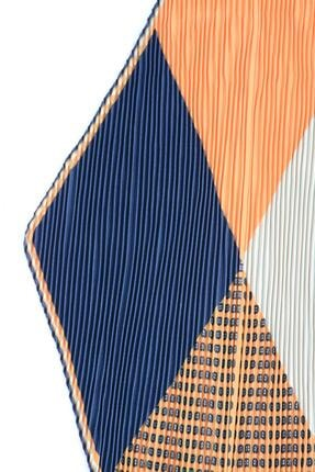 Y-London 13484 Patchwork Desenli Pliseli Fular 3