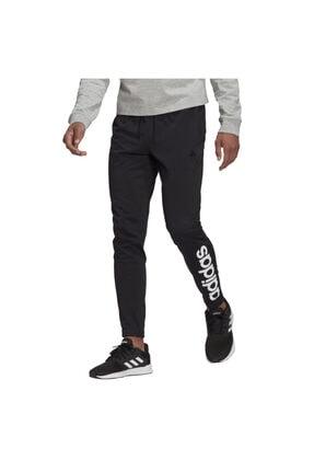 adidas Essentials Single Jersey Tapered Elastic Cuff Logo Erkek Eşofman Altı 0