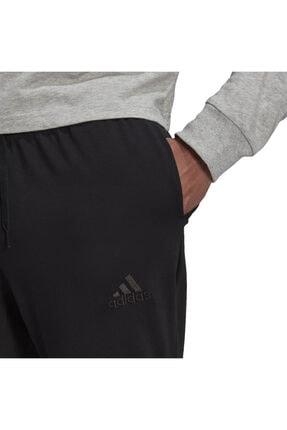 adidas Essentials Single Jersey Tapered Elastic Cuff Logo Erkek Eşofman Altı 3