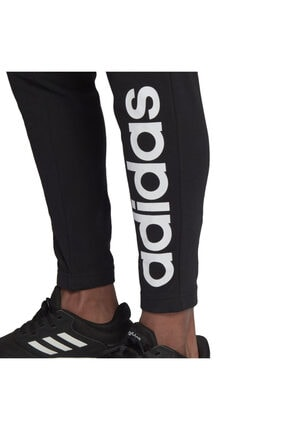 adidas Essentials Single Jersey Tapered Elastic Cuff Logo Erkek Eşofman Altı 4