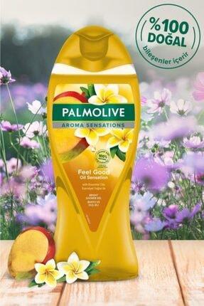 Palmolive Aroma Sensations Feel Good Ipeksi Banyo Ve Duş Jeli 500 ml X 2 Adet Duş Lifi Hediye 1