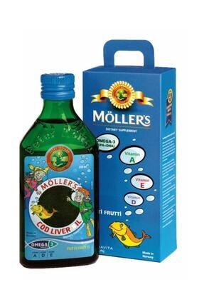 Mollers Möller's Omega 3 Balık Yağı Tutti Frutti 250 ml 0