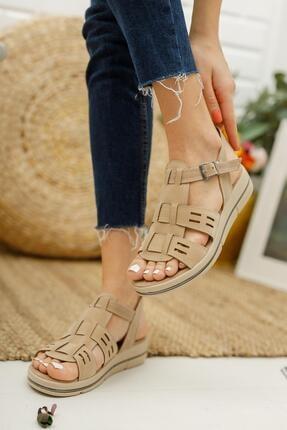 Muggo Mglily07 Kadın Günlük Sandalet 1