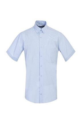 Kiğılı Regular Fit Kısa Kol Desenli Gömlek 0