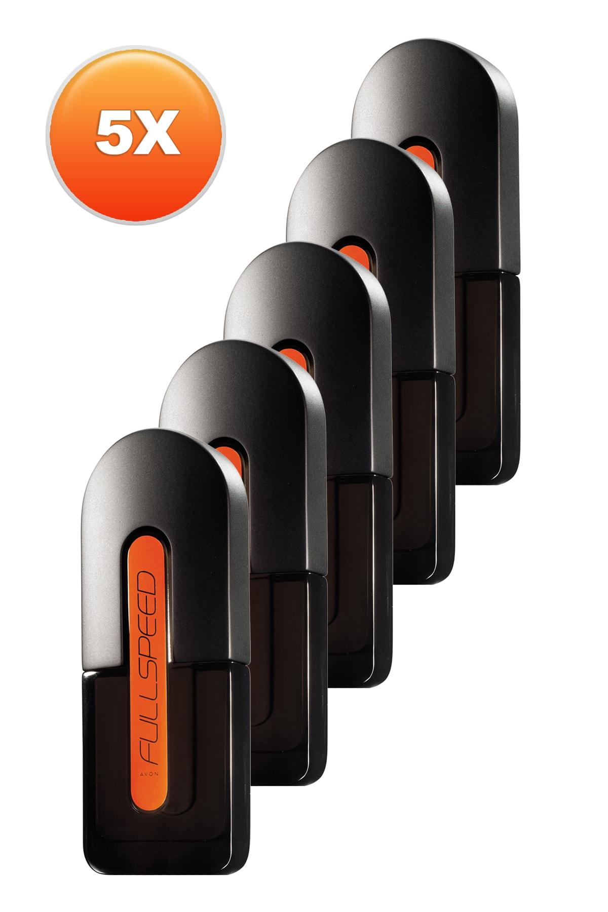 Avon Full Speed Erkek Parfüm Edt 75 ml 5'li Set 5050000103992 1