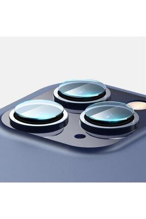 Baseus Iphone 12 Pro 6.1-pro Max 6.7 Uyumlu  Tempered Kamera Lens Koruma Camı 2set 1