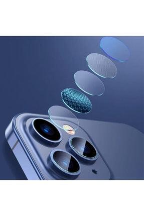 Baseus Iphone 12 Pro 6.1-pro Max 6.7 Uyumlu  Tempered Kamera Lens Koruma Camı 2set 3