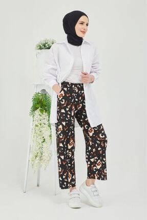 Cicigirls Kadın Siyah Bol Paça Pantolon 1