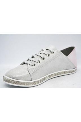 WARHOL SHOES Kadın Gümüş Spor Ayakkabı 2