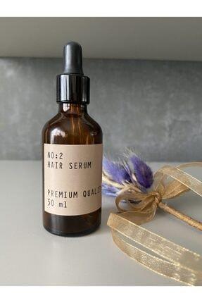 CASANATURA Amber Cam Şişe 50 ml Cam Damlalıklı Hair Serum Kraft 0