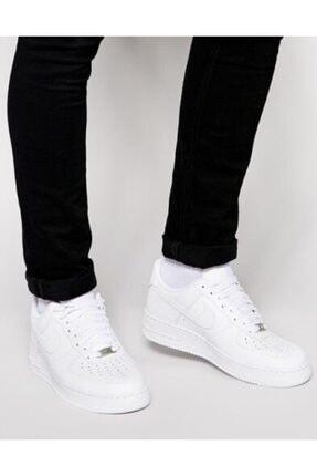 Nike Air Force Beyaz Erkek Spor Ayakkabı 315115-112 2