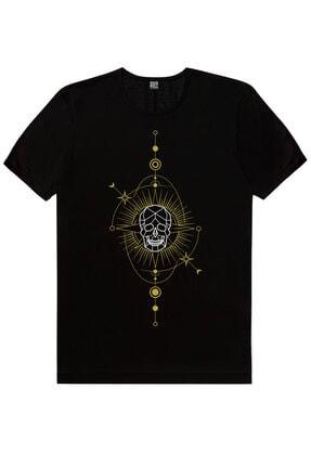 Rock & Roll Erkek Siyah Biz Ayrılamayız, Kuru Güneş, Siyah Ay Güneş 3'lü Eko Paket T-Shirt 2