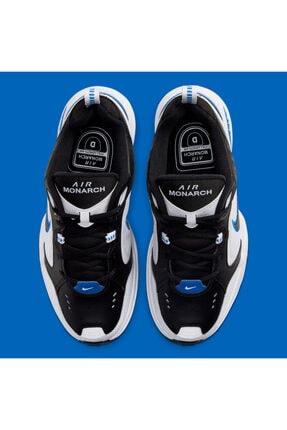 Nike Air Monarch Iv 4 Siyah Beyaz Mavi Retro Unisex Sneaker Ayakkabı 415445-002 3