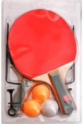inci paketi Masa Tenis Seti 2 Raket 3 Top Ve File 1