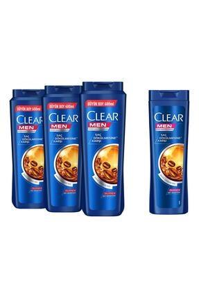 Clear Men Saç Dökülmesine Karşı Şampuan 600ml x3 + 180ml 0