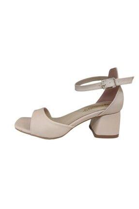 Pandora Kadın Bej Topuklu Ayakkabı Mi041 1