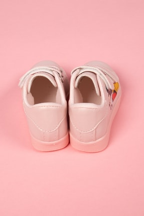 modawars Kız Çocuk Pembe Baskılı Spor Ayakkabı 883-101 3