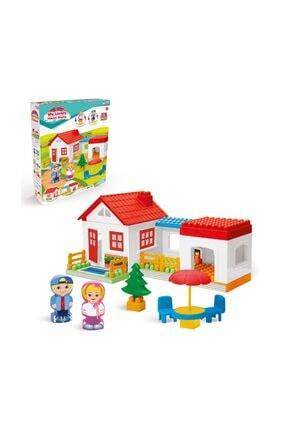 Fen Toys 03135 Tek Katlı Ev Bloklar 36 Parça 0