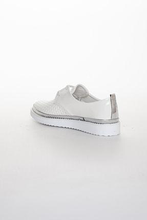 Odal Shoes Kadın White Rose Casual Ayakkabı 3