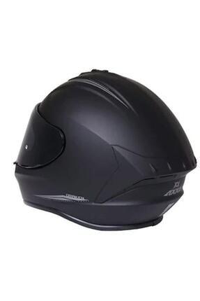 Axxis Kask Draken Matt Black Motosiklet Kaskı 2