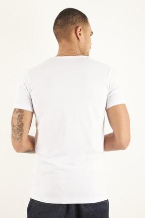 TRICKO Basic V Yaka Tişört 4