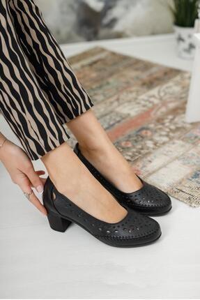 Diego Carlotti Kadın Deri Günlük Klasik Topuklu Ayakkabı 1