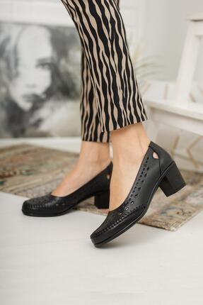 Diego Carlotti Kadın Deri Günlük Klasik Topuklu Ayakkabı 2