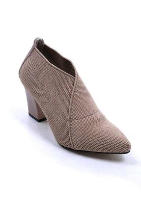 Ustalar Ayakkabı Çanta Bej Kadın Topuklu Ayakkabı 364.2256 0