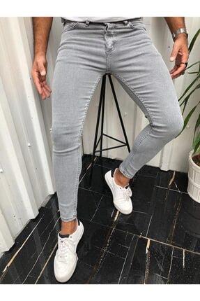 ukdwear Erkek Gri Slim Fit Kot Pantolon 0