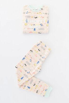 Penti Kız Çocuk Çok Renkli  Grandma's House Termal Ls 2li Pijama Takımı 4