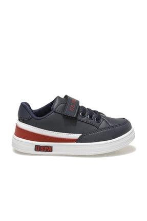 US Polo Assn JAMAL 1FX Lacivert Erkek Çocuk Sneaker Ayakkabı 100911033 1