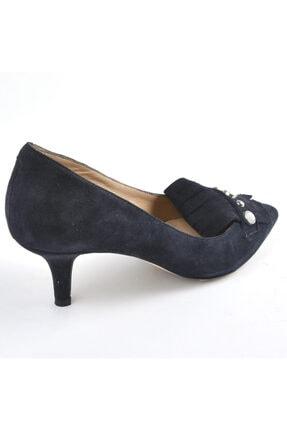 Inci Detaylı Süet Topuklu Ayakkabı 974 49