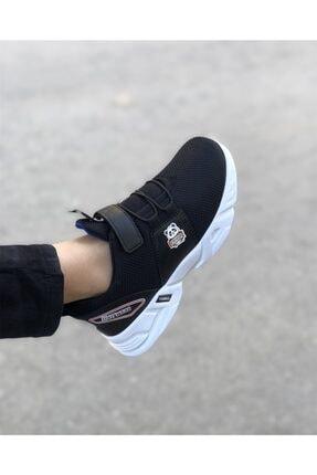 EDS Shoes Çocuk Siyah Sax Panda Günlük Ayakkabı 0