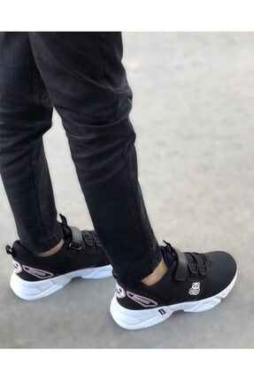 EDS Shoes Çocuk Siyah Sax Panda Günlük Ayakkabı 1