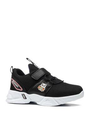 EDS Shoes Çocuk Siyah Sax Panda Günlük Ayakkabı 2