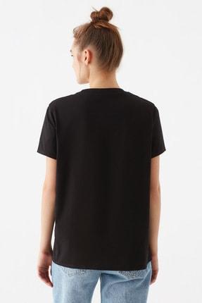 Mavi Kadın Baskılı Siyah Tişört 1600520-900 3