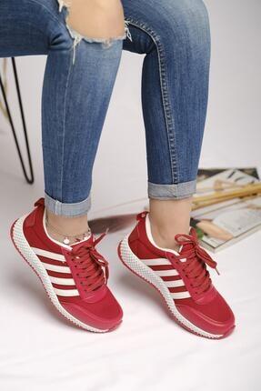 Oksit Kandela File Detaylı Kadın Sneaker 0