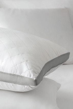 Madame Coco Klimalı Yastık - Beyaz / Açık Gri 1