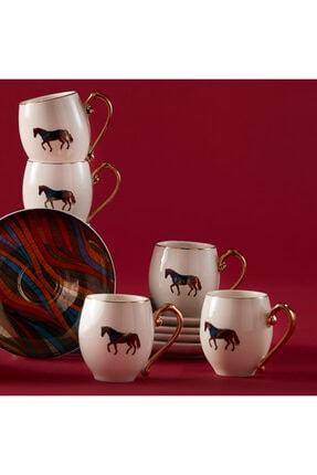 Karaca Cavallo 6 Kişilik Kahve Fincan Takımı 1
