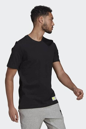 adidas Erkek Siyah Günlük T-shirt 2