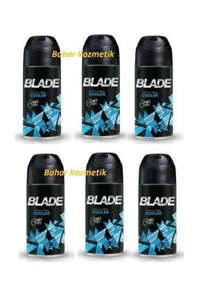 Blade Cooler Erkek Deodorant 6 Adet 150 ml 0