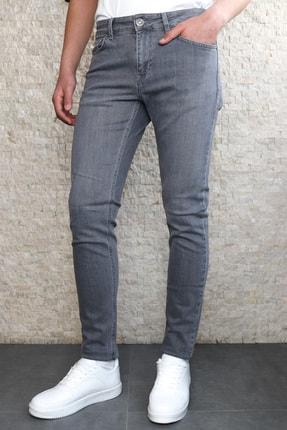 Collezione Collezıone Johen Slim Fit Gri Kot Pantolon 0