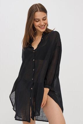 Penti Kadın Siyah Bimba Gömlek 1