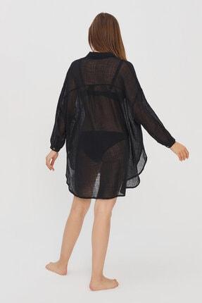 Penti Kadın Siyah Bimba Gömlek 3